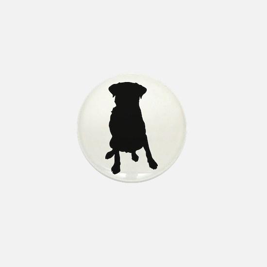 Dog Bone and Paw Mini Button