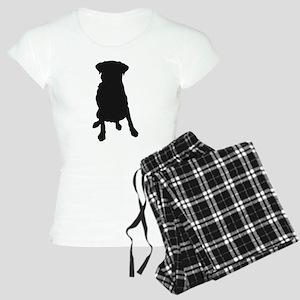 Dog Bone and Paw Women's Light Pajamas