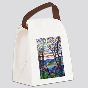 Tiffany Frank Memorial Window Canvas Lunch Bag