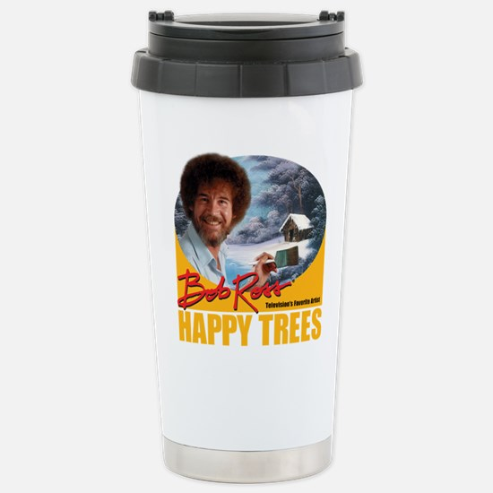 Bob Ross Stainless Steel Travel Mug