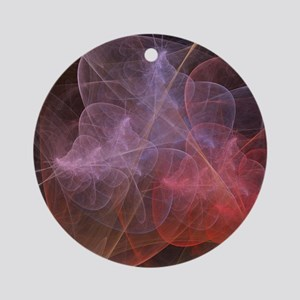 Abstract Art Wonderful Galaxy Ornament (Round)