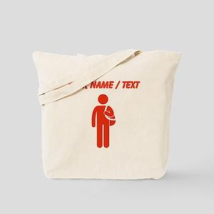 Custom Red Student Tote Bag