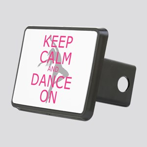 Modern Keep Calm and Dance On Hitch Cover