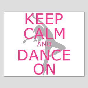 Modern Keep Calm and Dance On Posters