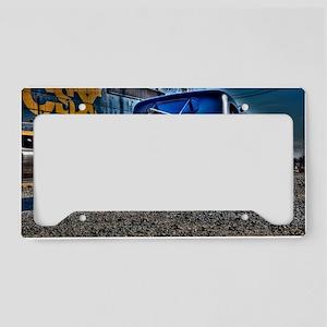 Rat rod License Plate Holder