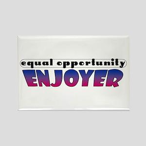 Equal Opportunity Enjoyer Rectangle Magnet