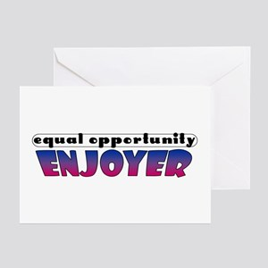 Equal Opportunity Enjoyer Greeting Cards (Package