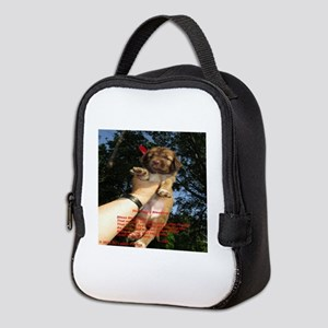 The Puppy Blessing Neoprene Lunch Bag