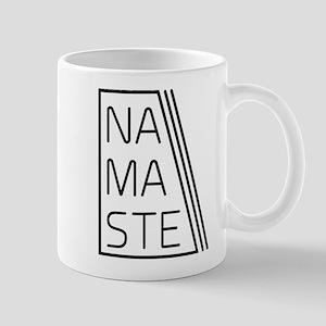 Namaste triangle lines Mugs
