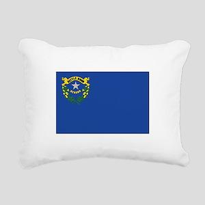Flag of Nevada Rectangular Canvas Pillow