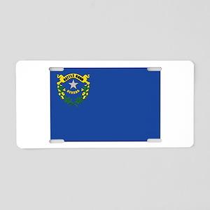 Flag of Nevada Aluminum License Plate