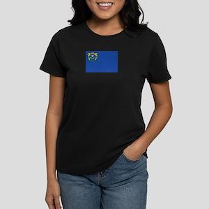 Flag of Nevada Women's Dark T-Shirt