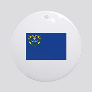 Flag of Nevada Ornament (Round)