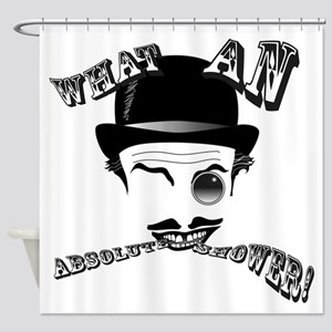"Cad's ""What an Absolute Shower!"" Shower Curtain"
