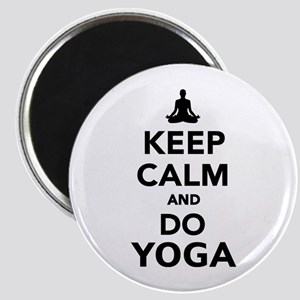 Keep calm and do Yoga Magnet