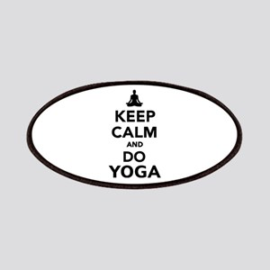 Keep calm and do Yoga Patches