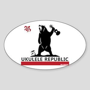 Ukulele Republic Sticker