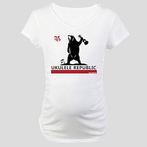 Ukulele Republic Maternity T-Shirt