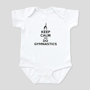 Keep calm and do Gymnastics Infant Bodysuit