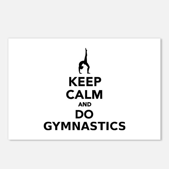 Keep calm and do Gymnasti Postcards (Package of 8)