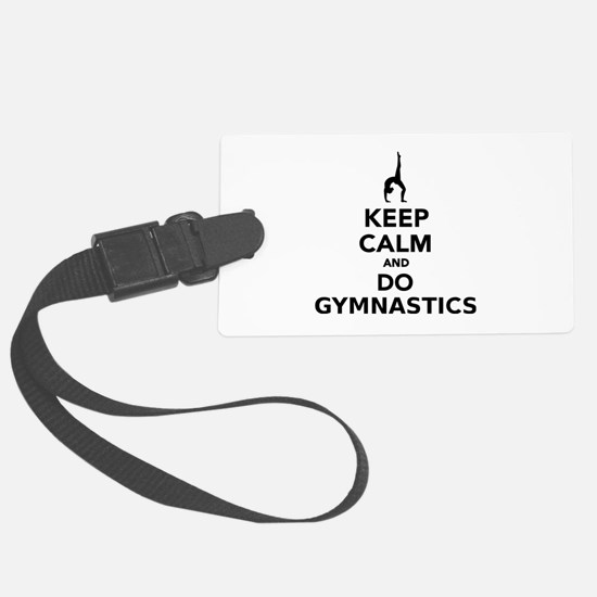 Keep calm and do Gymnastics Luggage Tag