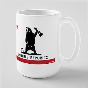 Ukulele Republic Flag Mugs