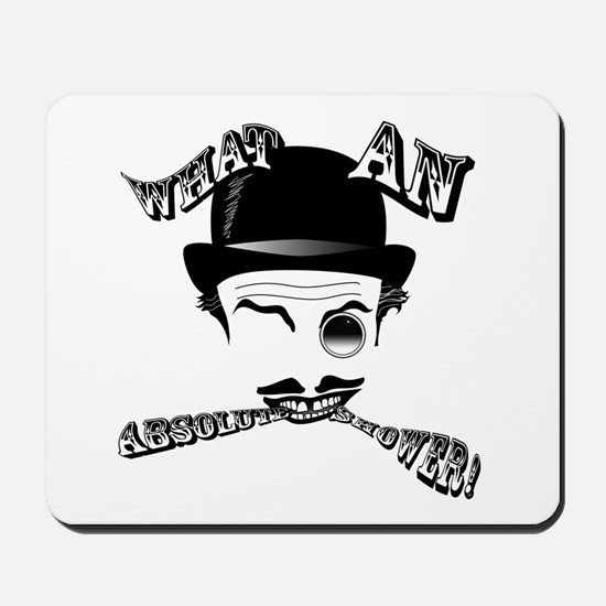 "Cad's ""What an Absolute Shower!"" Mousepad"