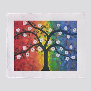 Tree of Dreams Throw Blanket