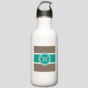 Custom Monogram Water Bottle