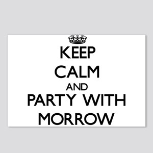Keep calm and Party with Morrow Postcards (Package