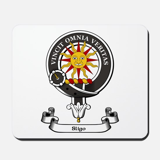 Badge-Sligo Mousepad