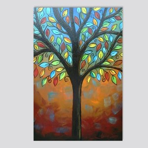 Tree of Many Colors Postcards (Package of 8)