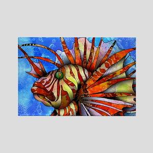 Orange Fish Magnets