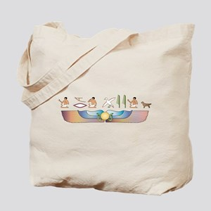 Retriever Hieroglyphs Tote Bag