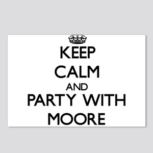 Keep calm and Party with Moore Postcards (Package