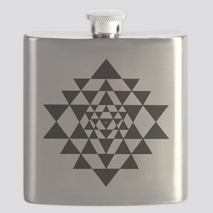 Sri Yantra Flask