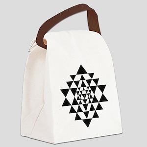Sri Yantra Canvas Lunch Bag