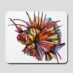 Orange Fish Mousepad