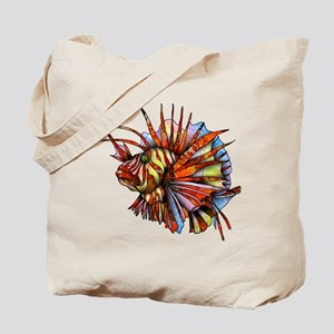 Orange Fish Tote Bag