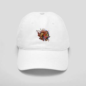 Orange Fish Baseball Cap