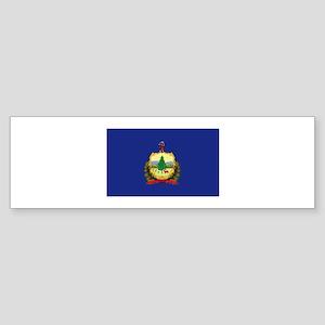 Flag of Vermont Sticker (Bumper)