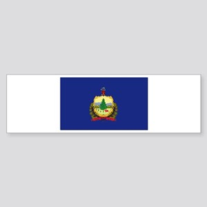 Flag of Vermont Sticker (Bumper)