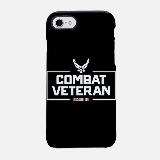 USAF Combat Veteran iPhone 7 Tough Case