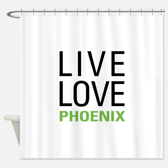 Phoenix Shower Curtain