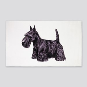 Scottish Terrier Area Rug