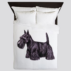Scottish Terrier Queen Duvet