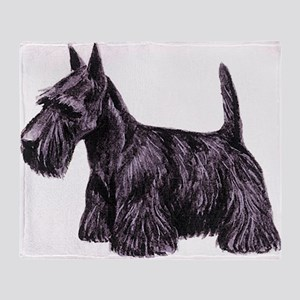 Scottish Terrier Throw Blanket