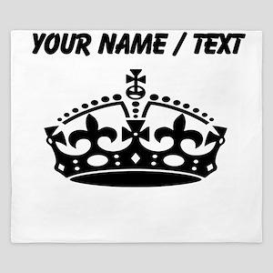 Custom Crown King Duvet