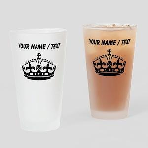 Custom Crown Drinking Glass
