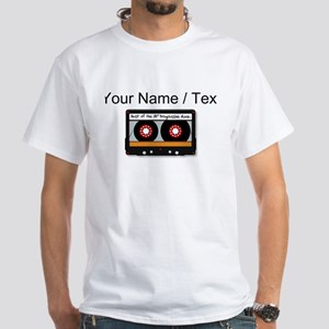 Custom Cassette Tape T-Shirt